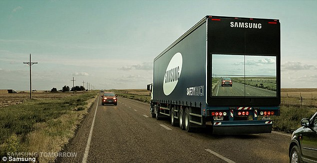 Samsung Transparent safety trucks