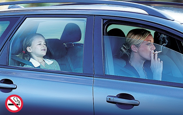Smoking in Car Law UK with Children