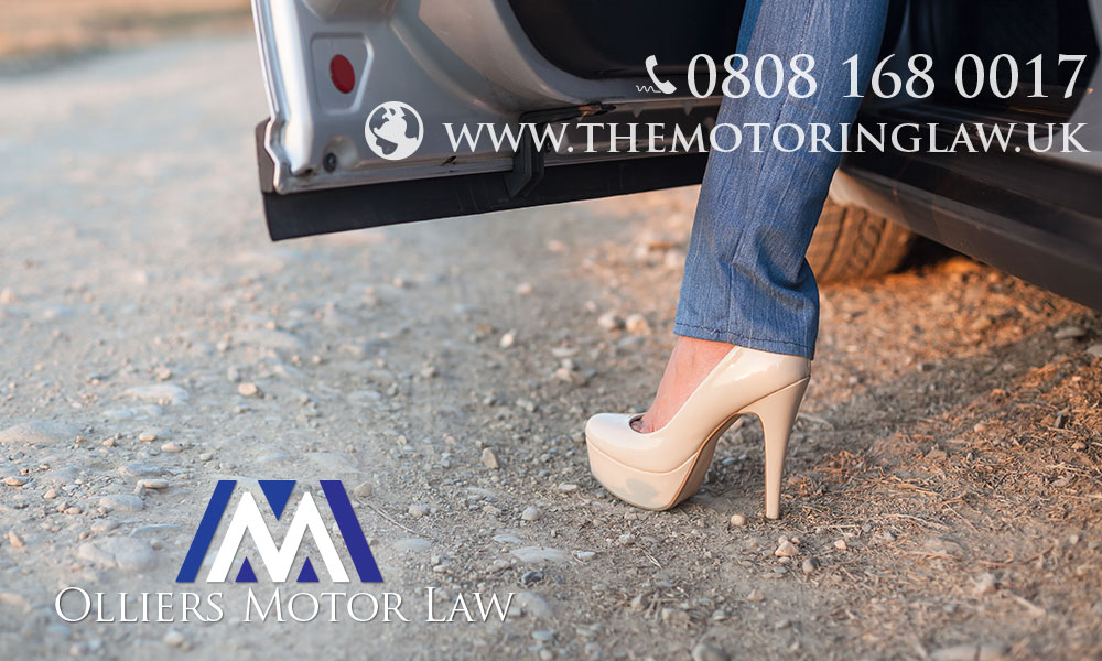 Legal Advice on driving in heels or barefoot