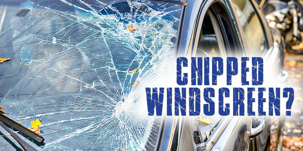 Driving with a chipped windscreen