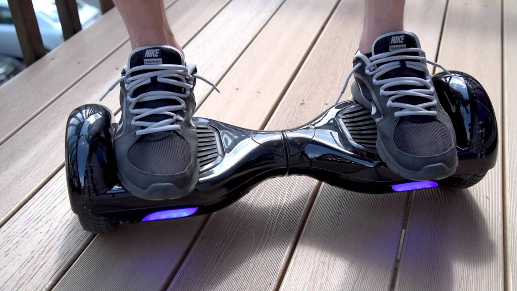 Picture of hoverboard user