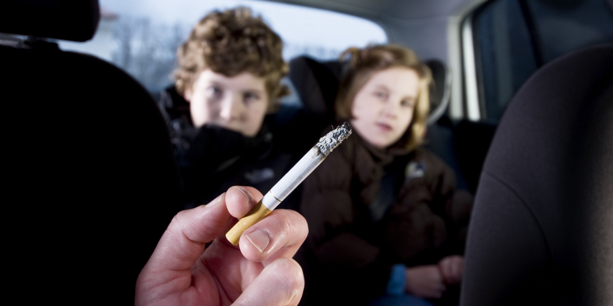 Smoking in Vehicles New Law