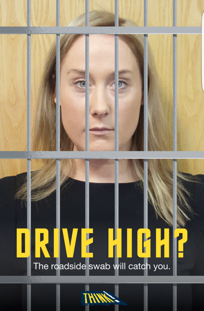 Drug driver behind bars